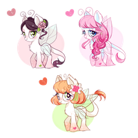 Dewlettes ADOPTABLES OPEN (COMMON) by Ipun