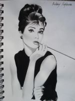 Audrey Hepburn. by OurLady-OfSorrows