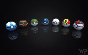 Pokedex Project Generation 3 Pokeballs by WilbertPierce