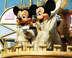Disneyland Mickey and Minnie by MEMDB