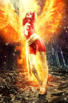 Dark Phoenix - Rise Again by FioreSofen