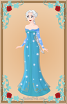 Elsa Snow Queen by monsterhighlover3