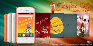 Firefox OS Wallpaper - Easter Pack by quen-quen