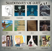Summary of Art 2012: THERE HAS BEEN IMPROVEMENT! by spypoke