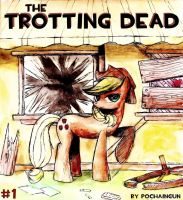 The Trotting Dead Cover #1 by VintageNinjaFish