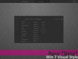 base BETA2 for Win7 by AlbinoAsian