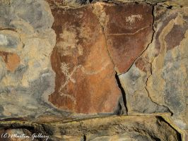 Nevada Petroglyphs150118-31 by MartinGollery