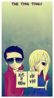 The Ting Tings by putrithewicked