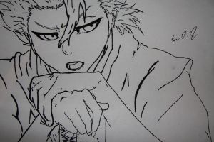 toshiro hitsugya by eve12no2name