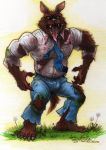 Ghostbusters Werewolf ( Wolfman ) by Phraggle