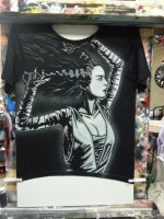 Bride of Frankenstein Tshirt by BoaGrafix