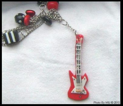 Guitar Necklace by dreamylicious