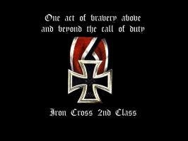 Iron Cross 2nd Class by Luug