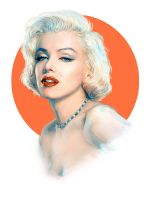 Marilyn Monroe by Anti-Pati-ya