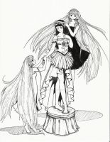 Chobits and Hinata Commission by rayn-the-insane