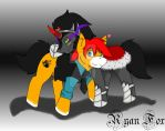 Ryan and King Sombra by Ryan-the-fox