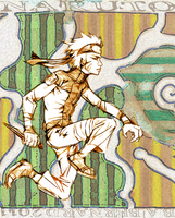 Naruto 2011 with textural BG by blairsy
