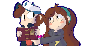 Gravity Falls .: Poke :. by Sonikku-Star
