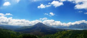 mount batur panorama by ndrwisme