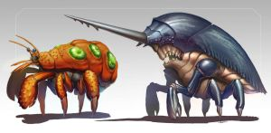 Preview crustasean monsters by hanonly1