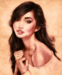 Alodia Portrait by EddieHolly