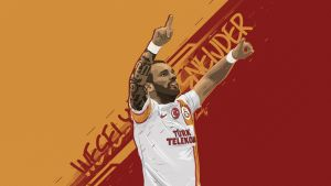 Wesley Sneijder Vector wall by midosamir89