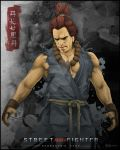 Street Fighter Akuma by youngsilas27