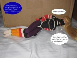Sock Slave Escape Training: 5 by alleghany71