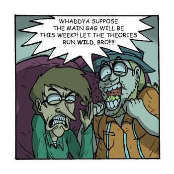 Update: My Roommate, The Internet Strip #11 by magusVroth