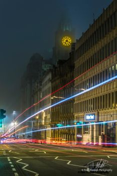 Water Street car trails by Paul-Madden