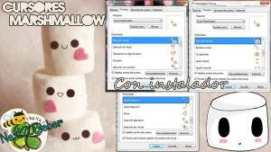 Cursores Marshmallow by Cursorsandmore