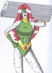OCD- Statuesque, the Stone Superheroine by RobertMacQuarrie1