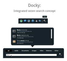 Docky: Integrated sezen search by chawsum
