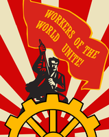 Socialist Unity Poster by Party9999999