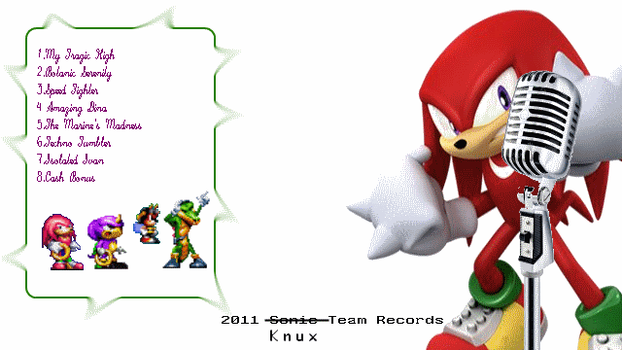 Chaotix Rhymez - Back Cover by Mike3k9