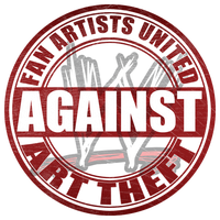WWE Fan Artists United Against Art Theft. by Roselyne777