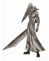 Pyramid Head by Naryx
