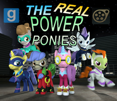[DL] The Power Ponies (IDW) ver 1.2 by Pika-Robo