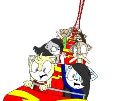 roller coaster x3 by Merlinathecat