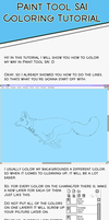 Paint Tool SAI Tutorial 2 by kioisrad