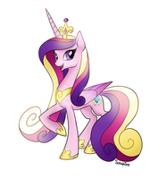 Michael Morones Recovery Fund - Princess Cadance by peachiekeenie