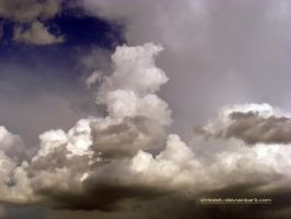 Incoming Clouds For The Evening Rain by eMBeeL