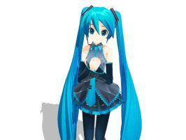 Miku XS by mdql by Haleylamperouge