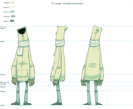 Tramp: modelsheet by robiant