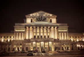 Grand Theatre in Warsaw by HeretyczkaA