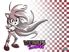Venus the Hedgehog - Retro by R-no71