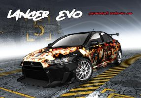 NFS Pro Street EVO Design by superreddevil