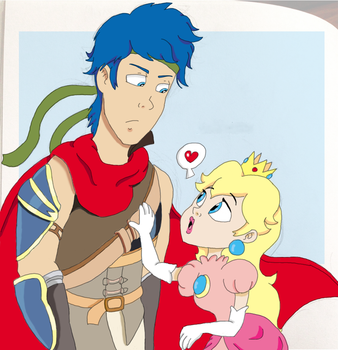 Ike x Peach by ashlee1203