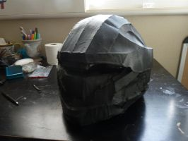 Halo 3 Recon Helmet WIP 5 by W4RH0US3