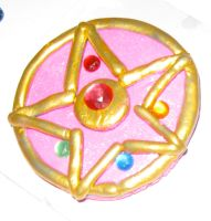 Sailor Moon 2nd Season Brooch by EvilNekoYoukai